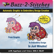 Buzz-2-Stitches 4 Package