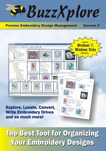 Buzz Tools Buzzxplore Embroidery Design Management Software