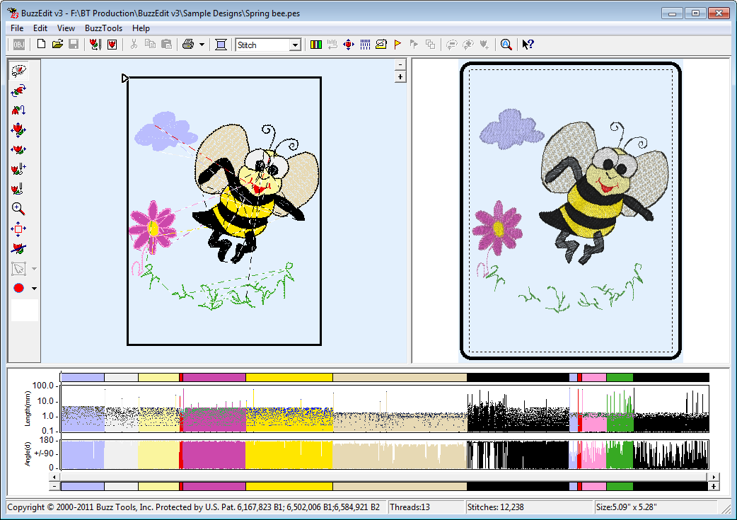 While BuzzEdit started as a simple embroidery stitch editor, it has ...
