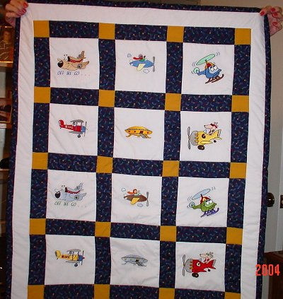 Free Airplane Quilt Pattern Lena Patterns